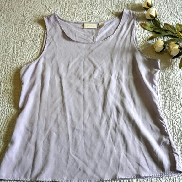 Chico's Tops - Chico's light purple (wisteria) tank top